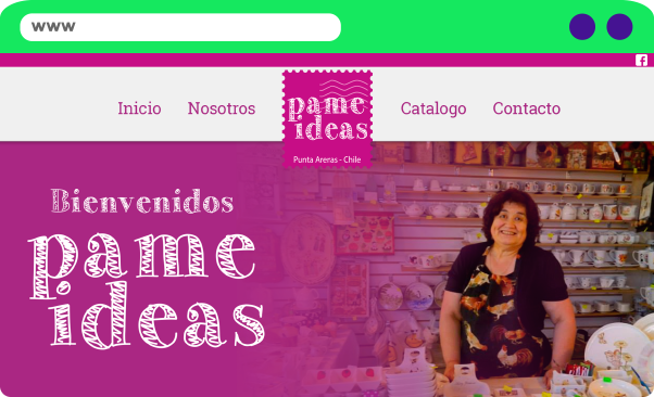 Sitio Web Pame Ideas