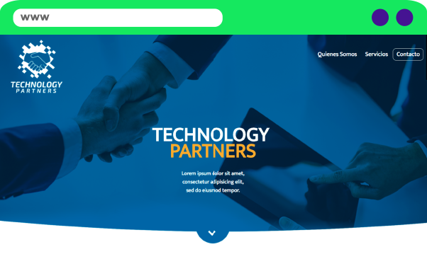 Sitio Web TechPartners